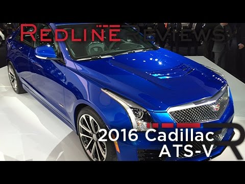 Redline First Look: 2016 Cadillac ATS-V