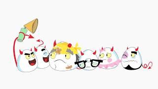 Scrambler Sandwich | Serie De Animacion Infantil | Deviled Eggz | Kids Videos