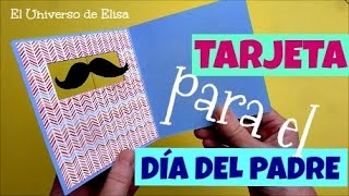 Manualidades para el Día del Padre, Tarjeta para el Día del Padre, Regalos para el Día del Padre