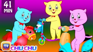 Three Little Kittens Went To The Park - Nursery Rhymes by Cutians™ | ChuChu TV Kids Songs