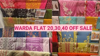 Warda summer clearance sale 50% off on unstitched collection 2020 | warda sale 2020 | Time to Vlog