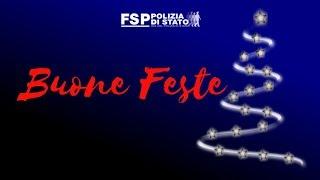 Auguri di Natale FSP Polizia di Stato