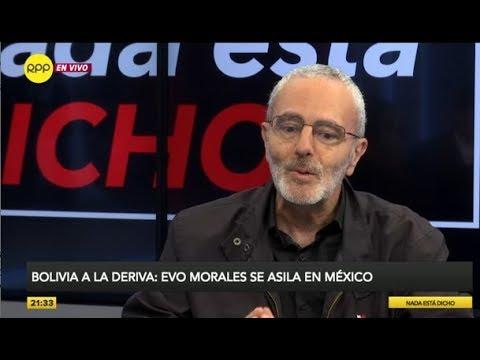 """Farid Kahhat: """"No hay nada de voluntario en la renuncia de Evo Morales, fue derrocado"""""""