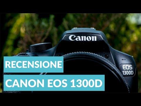 Canon EOS 1300D recensione ITA • Ridble