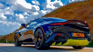 NEW Aston Martin Vantage First Drive & Epic Exhaust!