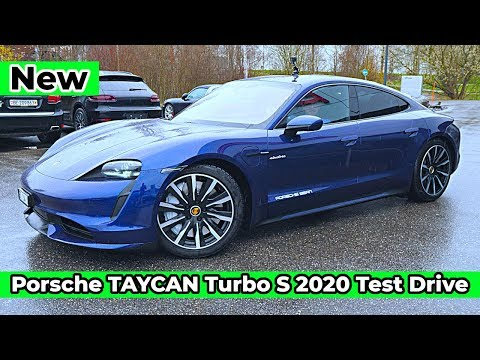 New Porsche TAYCAN Turbo S 2020 Review & Test Drive l Best Electric Car in the world !