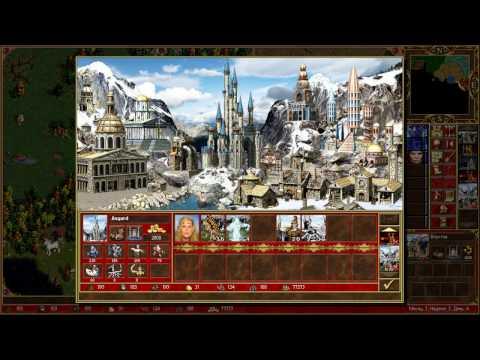Карта мира из героев меча и магии 3