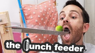 The Lunch Feeding Contraption | Josephs Machines