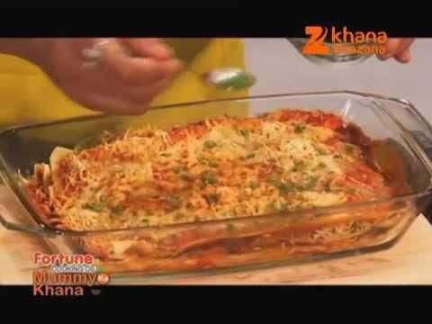 Vegetable Lasagna - Gautam Mehrishi - Mummy Ka Khana