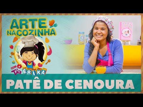 PATÊ DE CENOURA | Arte na cozinha com a Tia Érika