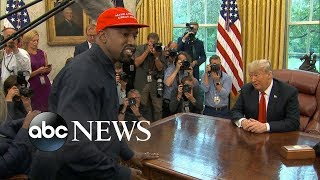 Kanye West on Trump: 'If he don't look good, we don't look good'