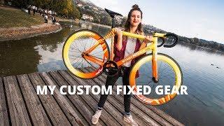 My Custom Fixed Gear Bike For Red Hook Crit