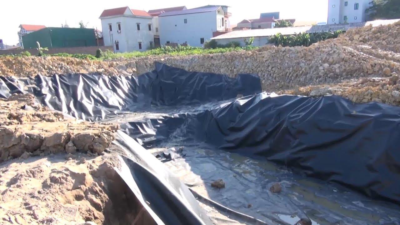 Bắc Ninh: Xử lý nghiêm tình trạng đào, đổ chất thải tại Văn Môn