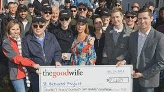 'Good Wife' Cast Marks 100 Episodes by Giving Back