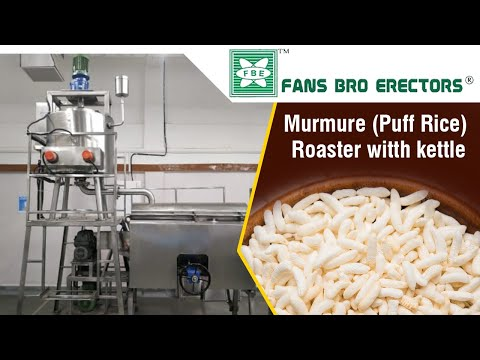 Fansbro Puff Rice Roster Machine