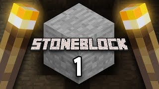 Minecraft: StoneBlock Survival Ep. 1 - IT'S ALL GONE WRONG