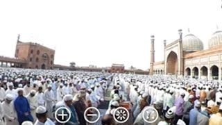 Here's What Eid Namaz In Delhi's Jama Masjid Looks Like In 360 Degrees