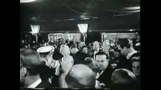 Rare early newsreel footage of Cinerama's European premiere in London, England.