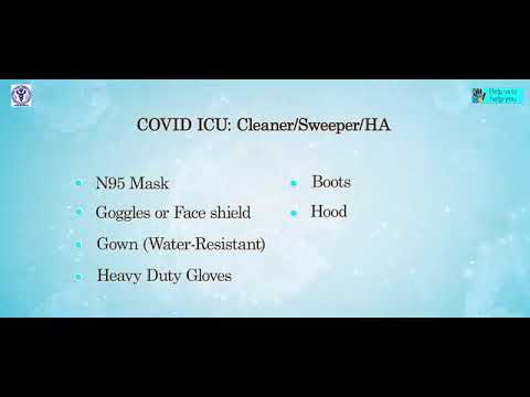 Covid-19 – Personal Protective Equipment