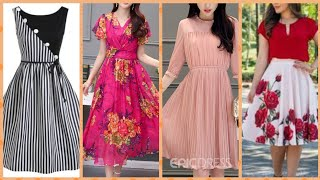 Outstanding Ruffle dresses middi dresses for women from fantasyou at stylewe