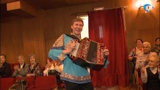 В Великом Новгороде проходят съемки новой телепрограммы, посвященной Русской гармони