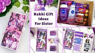 Amazing Gift Ideas For Sisters | Rakhi Gift For Sister| Customized Gift Box For Sister