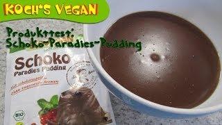 Produkttest BIOVEGAN Schoko-Paradies-Pudding - Schokolde - Koch's vegan