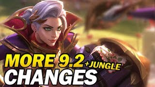 More big 9.2 changes and the Jungle update!