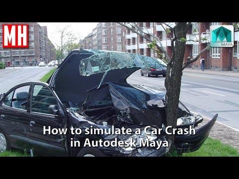 Maya tutorial : How to simulate a Car Crash