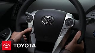 2012 Prius How-To: Steering Wheel Hands-Free Calling Controls | Toyota
