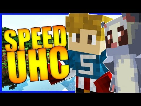 WE GOT SEPERATED!? | Minecraft Speed UHC | With NettyPlays