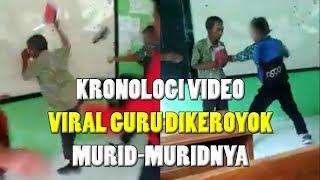 Kronologi Viral Guru Dikeroyok Muridnya, Lempar-lemparan Kertas hingga Video Diunggah di Story WA