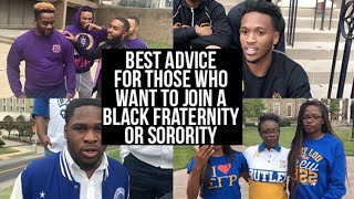 How Do You Let A Black Fraternity/ Sorority Know You Are Interested In Joining?