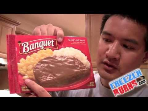 Banquet Meat Loaf Dinner REVIEW