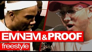 Eminem & Proof freestyle rare NEVER HEARD BEFORE! Just released. (Animated Video) Westwood