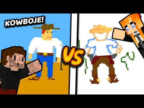 Jak narysować KOWBOJA? - Minecraft | ZIO i NERESSIA