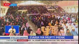 Ziara ya Mufti Menk:Waumini wa Kiislamu walijumlika katika hafla hio