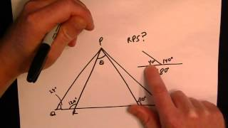 Most Missed GED Math Test Problem - Triangle Geometry