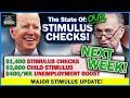 MAJOR STIMULUS CHECK UPDATE! $1,400 Stimulus Checks + Unemployment - Trillion Dollar Stimulus!