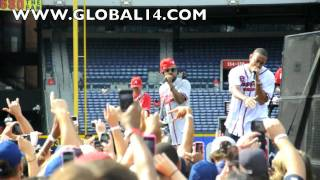 LIVING THE LIFE (ME,LUDA AND THE BRAVES)