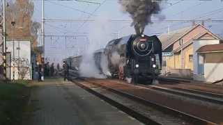 preview picture of video 'Parní lokomotiva Šlechtična'