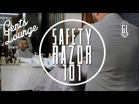 Safety Razor 101 (Ft. Art Of Shaving Master Barber) || Gent's Lounge