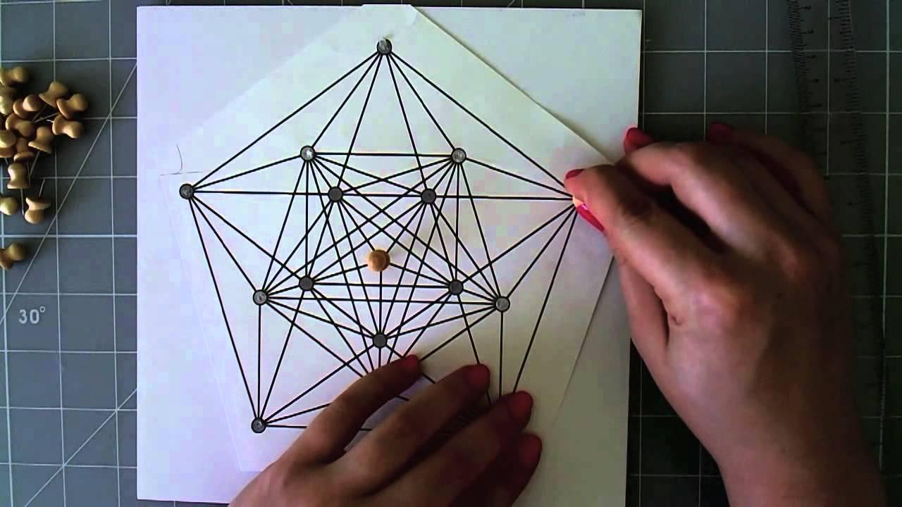 String Art - Cuadro con hilo
