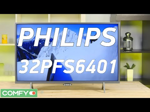 "Philips 32PFS6401/12 - телевизор с крутой ""картинкой"" и AndroidTV - Видео демонстрация"