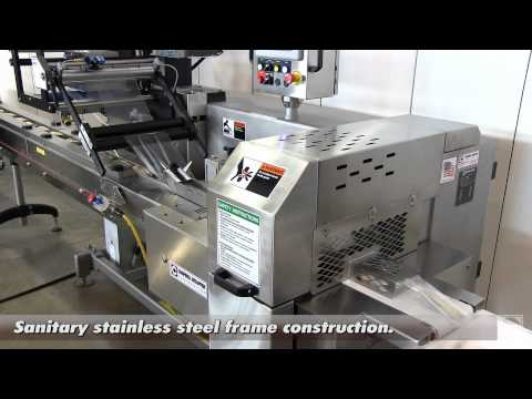 Horizontal Flow Wrapper for Burritos - Campbell Revolution Wrapper Campbell Wrapper - Horizontal Flow Wrappers