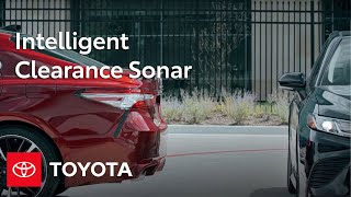 Toyota Camry How-To: Intelligent Clearance Sonar With Rear Cross - Traffic Braking   Toyota