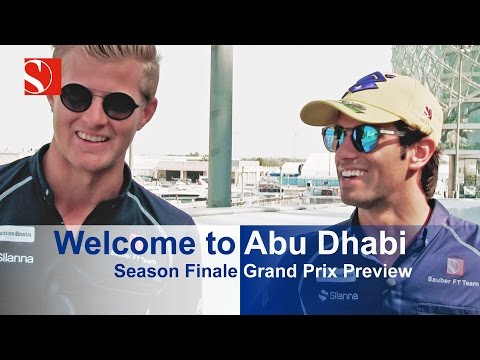 Showdown In Abu Dhabi - Abu Dhabi Grand Prix - Sauber F1 Team