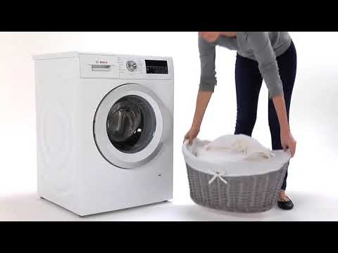 Bosch Freestanding Washing Machine WAU28R90GB - White Video 3