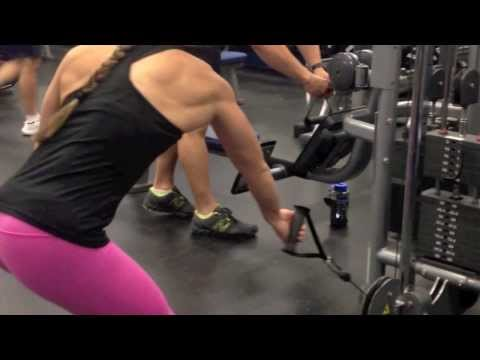 Single Arm Bent Over Row on Cable