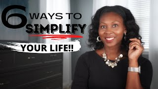 How to Simplify Your Life ⎟FRUGAL LIVING TIPS⎟Live a Simple, Intentional Life